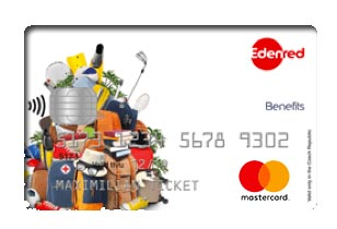 Edenred Benefits Card