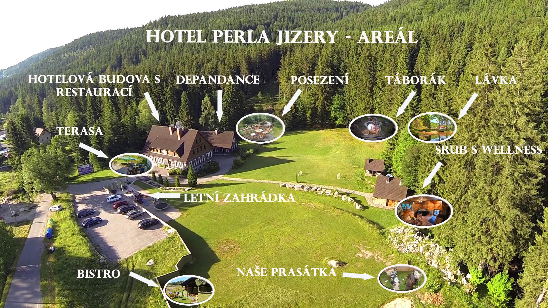 Hotelý areál