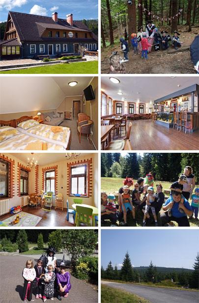 BALÍČEK Pohádková letní dovolená v Jizerských horách pro rodiče s dětmi
