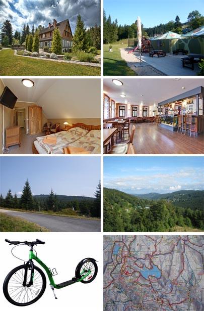 Ubytování s polopenzí nejen na víkend v Jizerkých horách