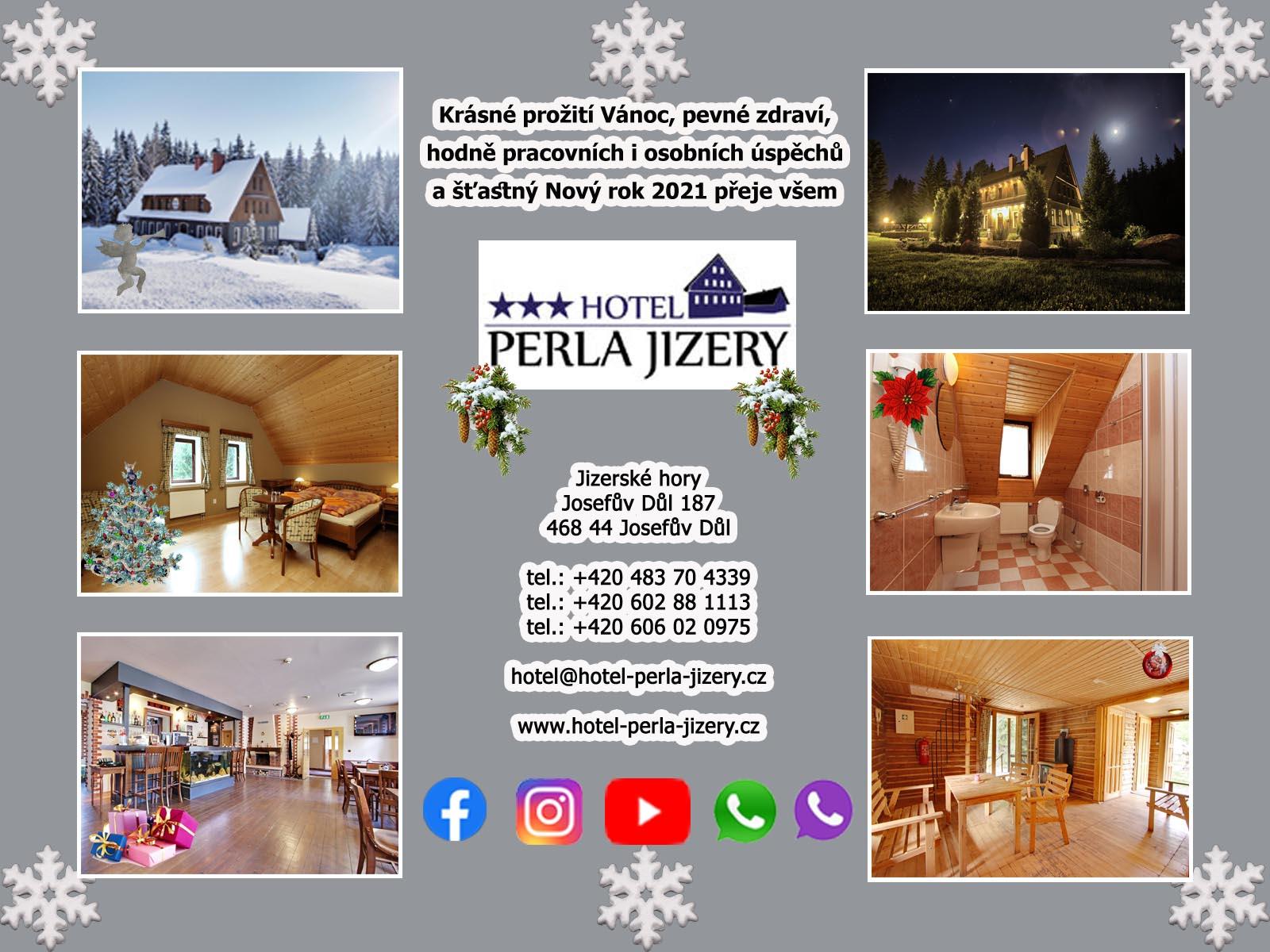 Hotel Perla Jizery - Vánoční a Novoroční přání