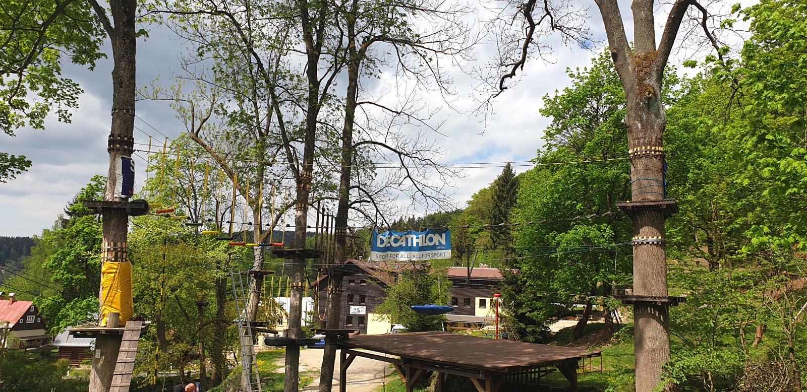 Lanový park Artur