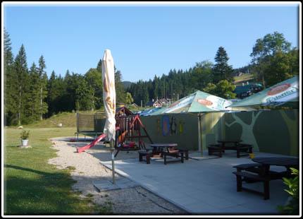 Summer terrace & playground