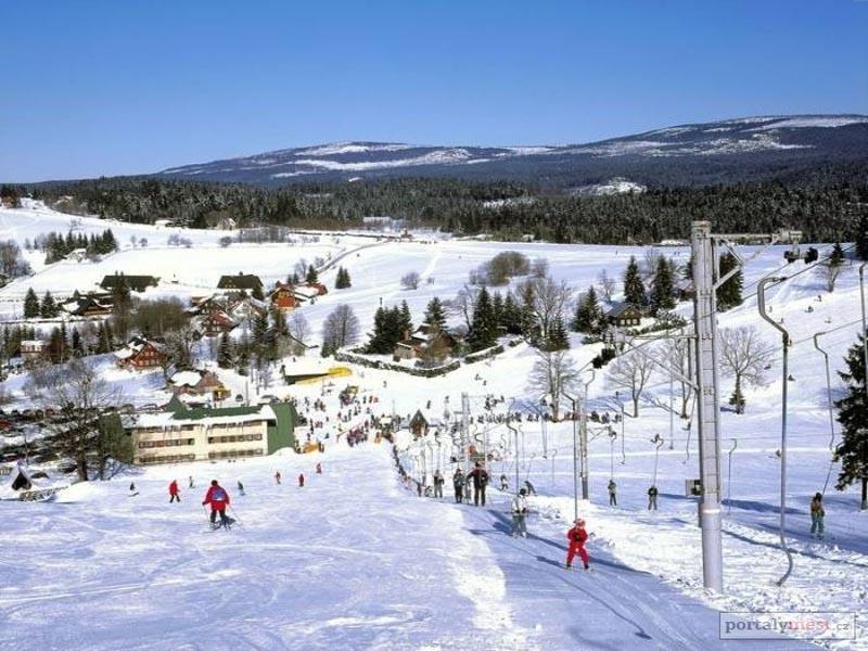 Ski areál Severák - Hrabětice