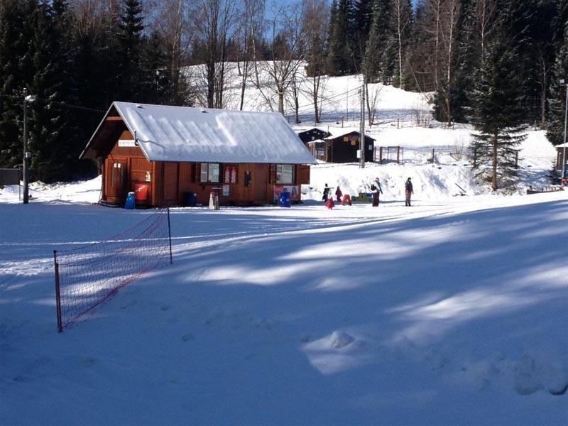 Ski areál U Pily - Lučany