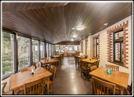 Restaurace Perla Jizery - salonek